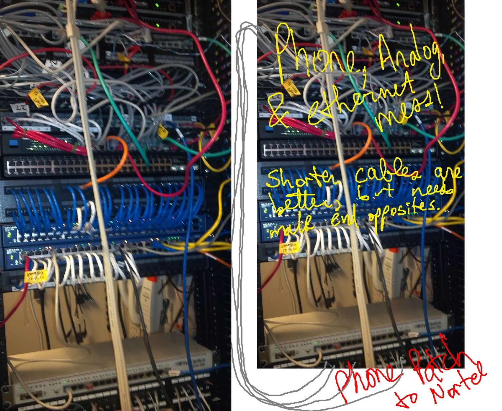 hight resolution of very short patch cables rjt s blog for home automation networking everything