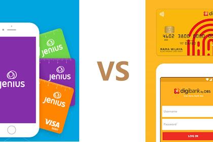 Perbandingan Tabungan Jenius Bank BTPN vs Digibank By DBS. Siapa yang Lebih Baik ?