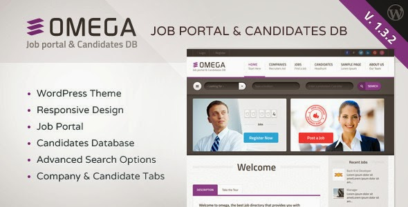 Omega WordPress Theme