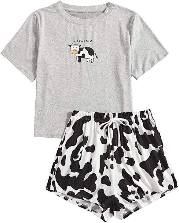 conjunto - camiseta - pantalón - vacas - vacaslecheras.net