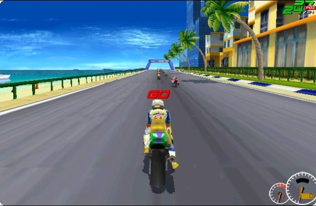 Moto Racer Game screenshot