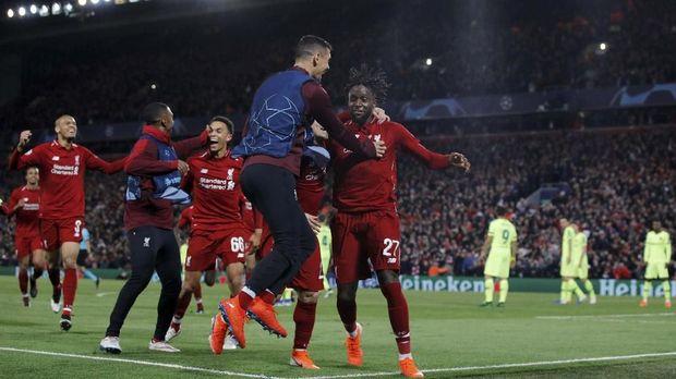 Pengganti Firmino Menyelamatkan Liverpool Di LIga Champions Melawan Barcelona 2019