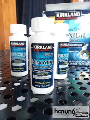Jual Kirkland Minoxidil Original Import