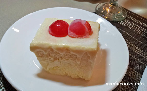 Juliana's Resto - Bacolod restaurant - frozen mango float