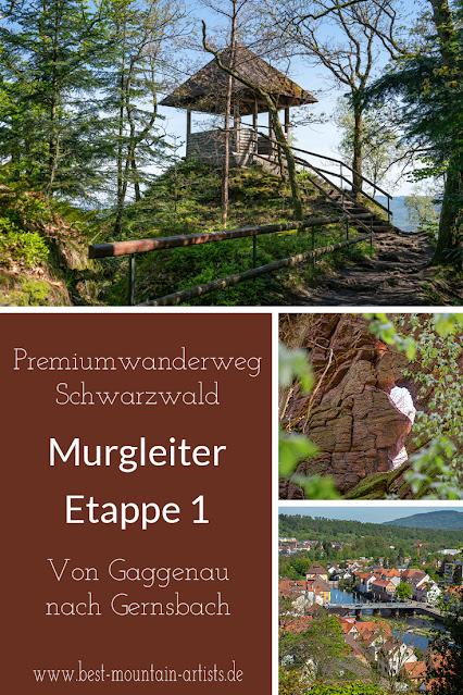 Premiumwanderweg Murgleiter | Etappe 1 von Gaggenau nach Gernsbach | Wandern nördlicher Schwarzwald 31