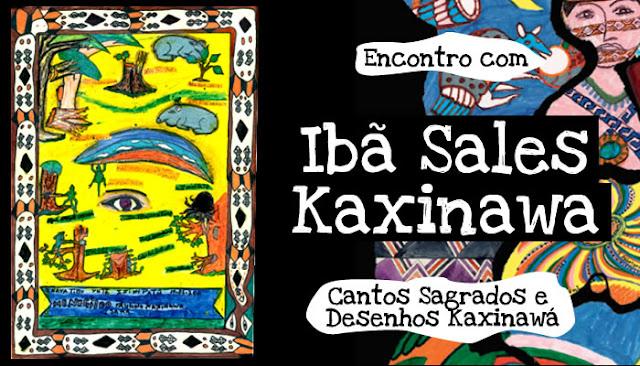 Livro - Encontros - Ibã Sales Kaxinawá-1