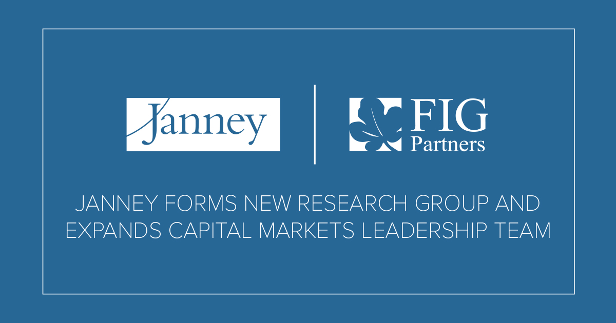 About Janney: Press Releases: Janney Expands Capital Markets