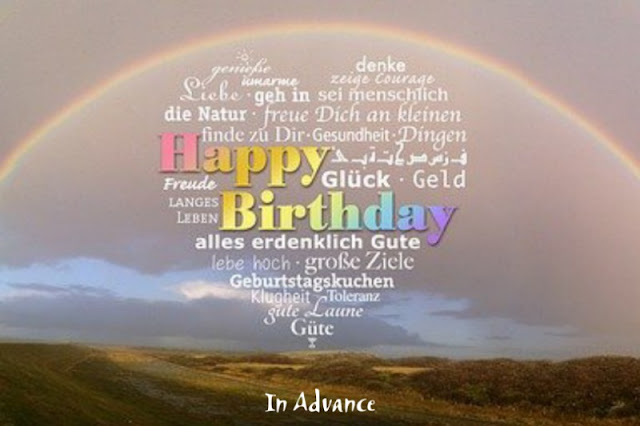 advance happy birthday images for best friend