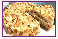 Mandlový dort - Švédský - Recepty a vaření