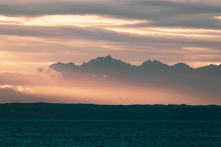 Olympic Mountains - Photo by Stephen Kraakmo on Unsplash