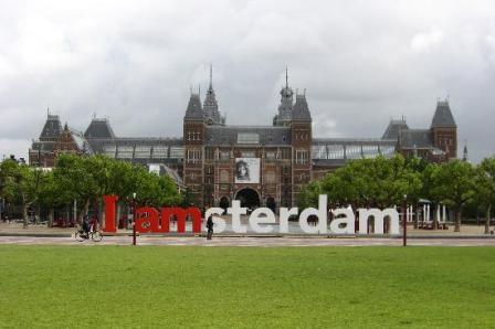 Rijksmuseum dan Museumplein, Amsterdam