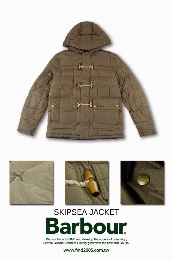 FIND SHOP: 英國百年皇室認證油布外套品牌【Barbour】全面在FIND SHOP上架!!