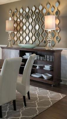idées de décoration murale de salle à manger sur un budget