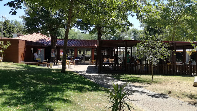 Café/bar do Parque das Taipas