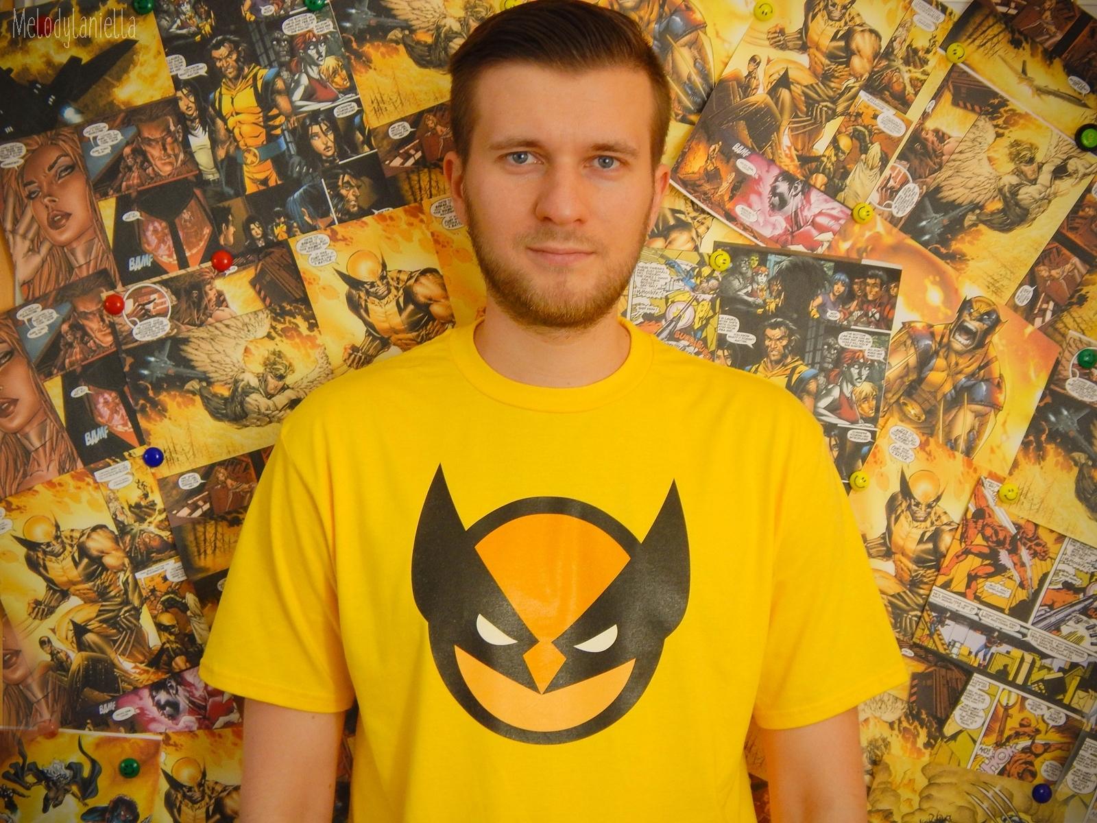 wolverine koszulka dla fanow komiksow i filmow deadpool koszulkowo stylowe ubrania dla geek