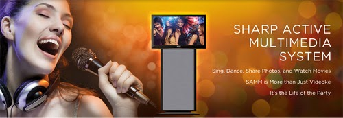 SAMM Video Karaoke Machine