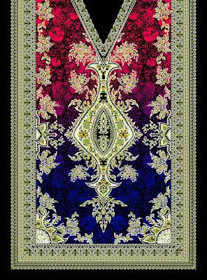 Lavanya-Geometric-Textile-Kaftan-23