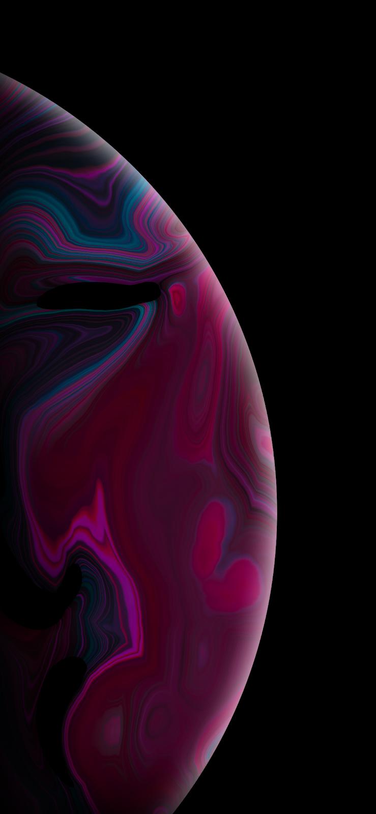 Purple Bubble (iPhone X)