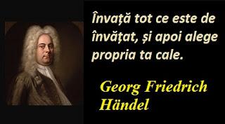 Maxima zilei: 23 februarie - Georg Friedrich Händel
