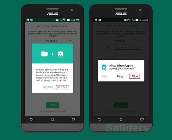 Cara mudah membuat akun whatsapp di android dan iphone, cara membuat akun wa, cara daftar whatsapps atau wa terbaru, cara singkat membuat akun whatsapps