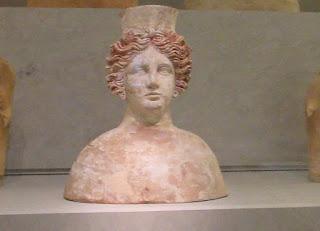 Diosa Tanit en el museo de Puig de Molins en Ibiza