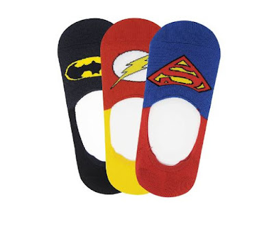 Justice League Men's Cotton Liners Socks Pack Of 3