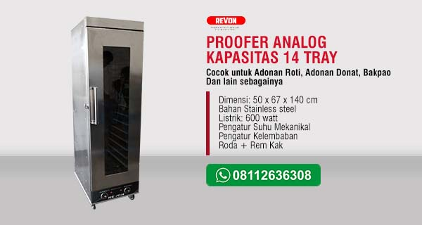 Proofer Roti 14 Tray