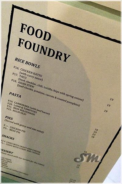 Food Foundry Ttdi Menu