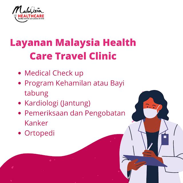 Kelebihan fasilitas Malaysia healthcare