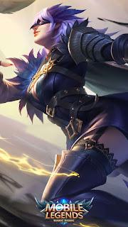 Natalia Midnight Raven Heroes Assassin of Skins V1