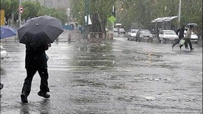 هيئة الارصاد, تساقط الامطار, حالة الطقس غداً,