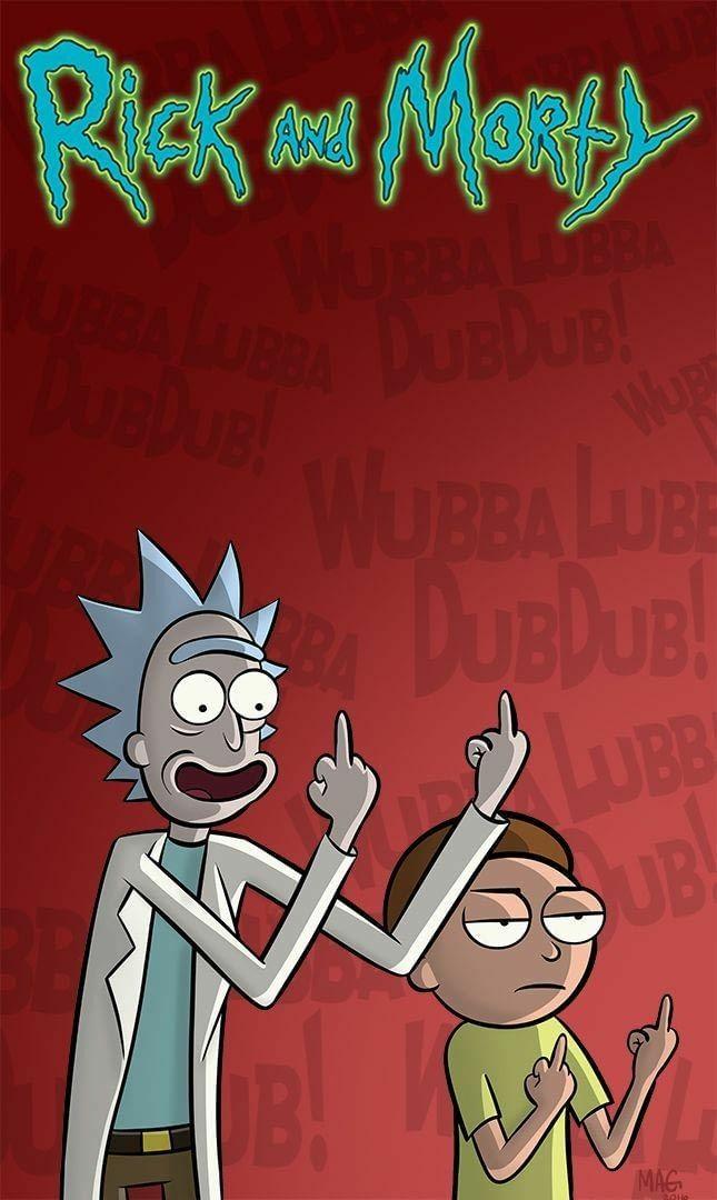 Papel de Parede Rick and Morty para Celular