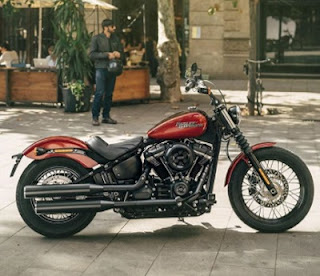 Harley Davidson Streetbob design Review Spec