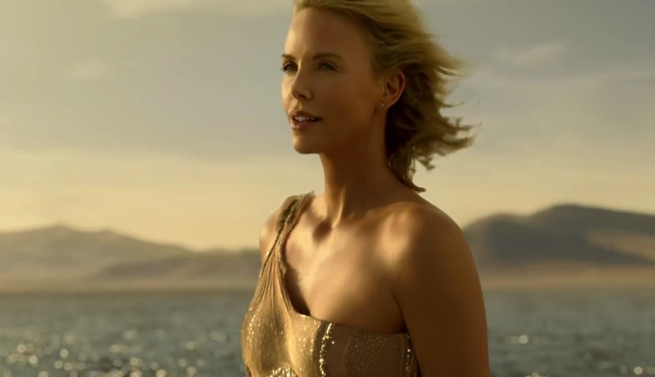 spot charlize theron