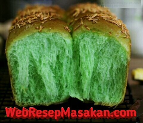 Pandan Killer Soft Bread, Resep pandan killer soft bread,