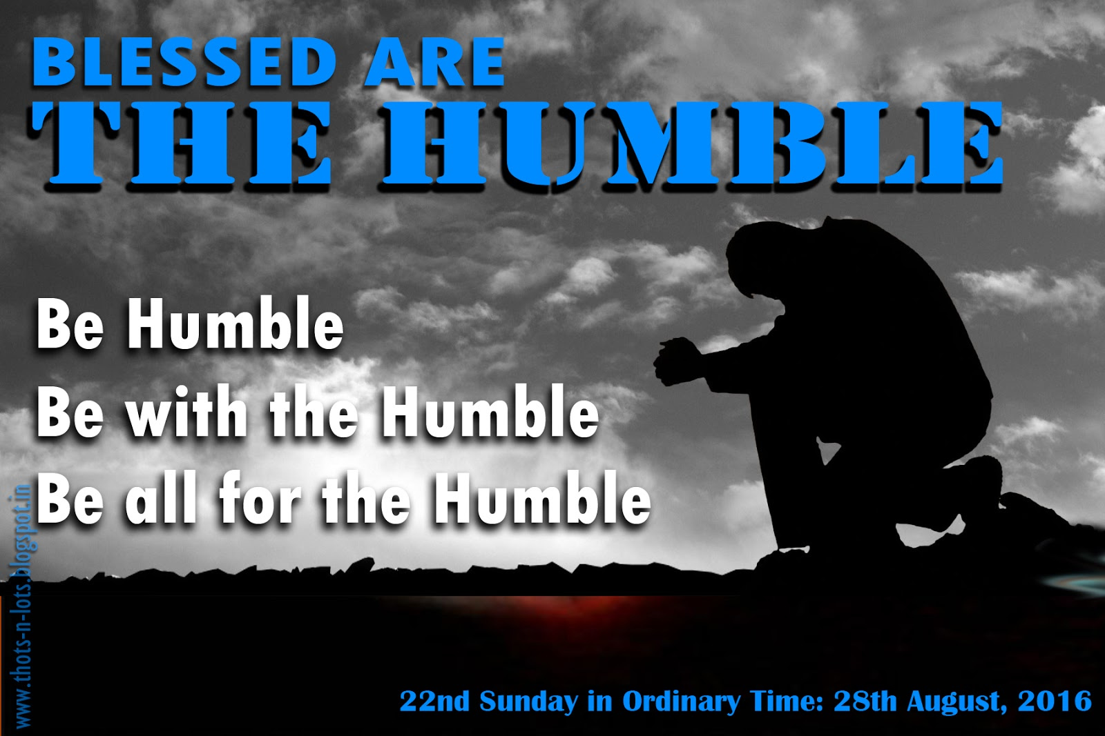 Humility - how to learn this virtue