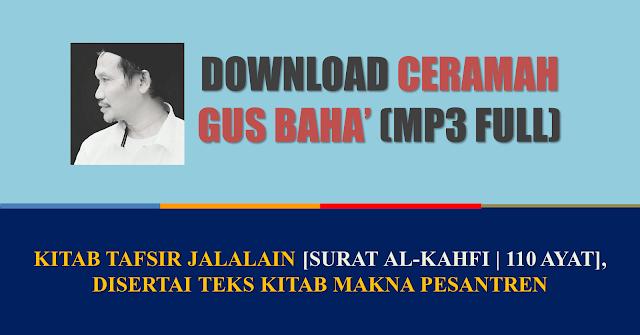 download  mp3 tafsir jalalain gus baha full duta islam
