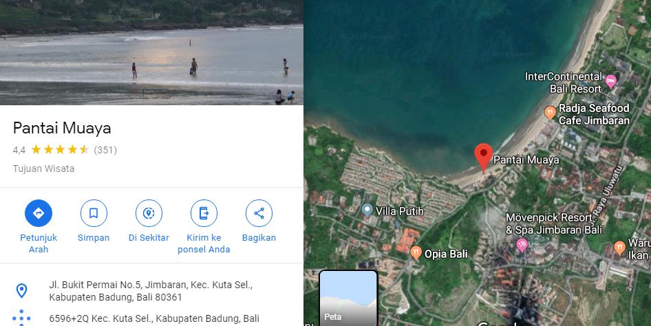 Tempat Wisata Di Pulau Bali Selatan Di Bali Web