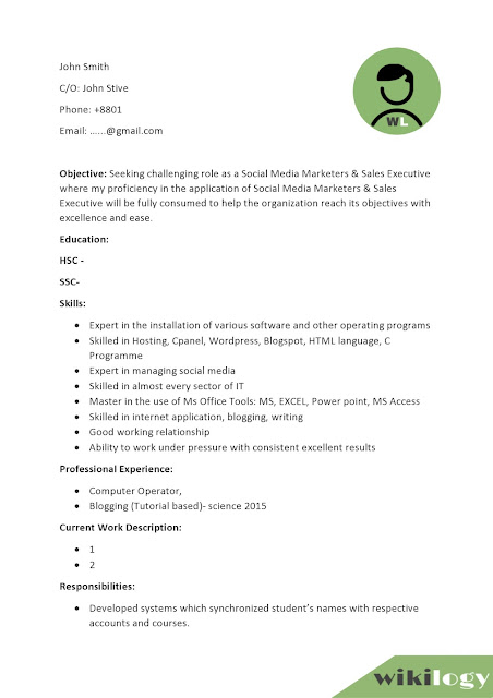 How to Write a CV (Curriculum Vitae) Resume