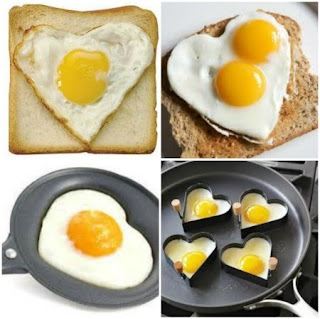 Heart Shaped Egg:
