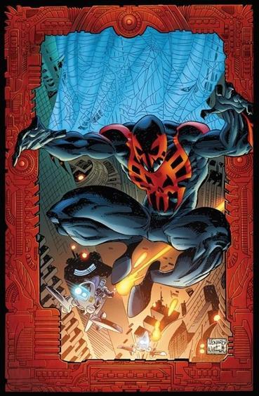 Spiderman 2099 es una versión alternativa del futuro