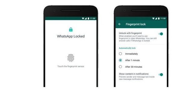 WhatsApp Rolls Out Fingerprint Lock Feature For Android