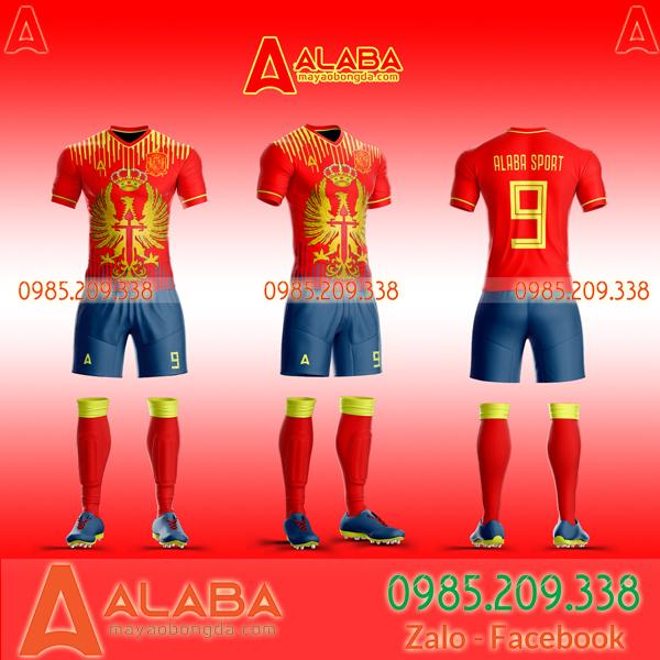 Áo đấu Tây Ban Nha mới nhất