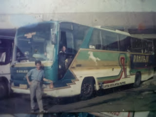 Mengenang Bus PO RAHARJA Patas AC Jogja - Purwokerto