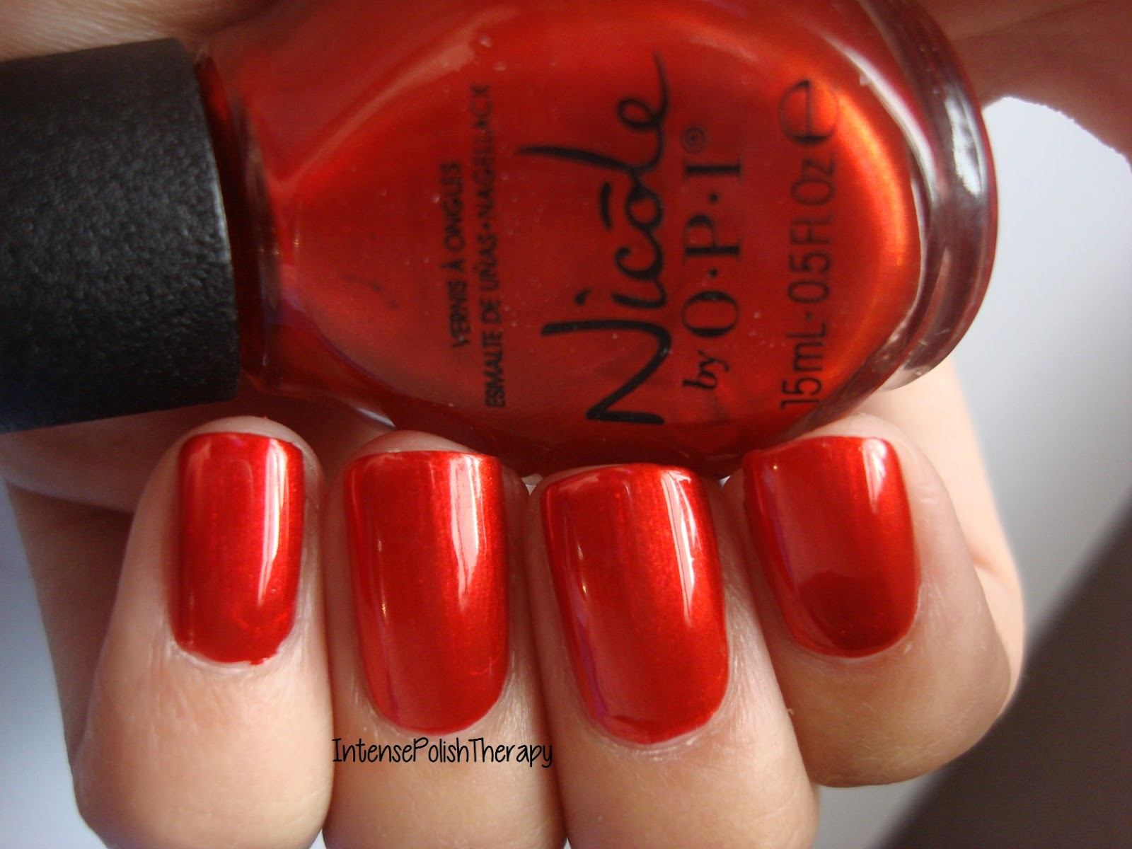 Nicole by OPI - Always a Classic Coca-Cola