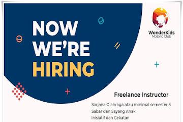Lowongan Kerja Instructor Wonder Kids Bandung