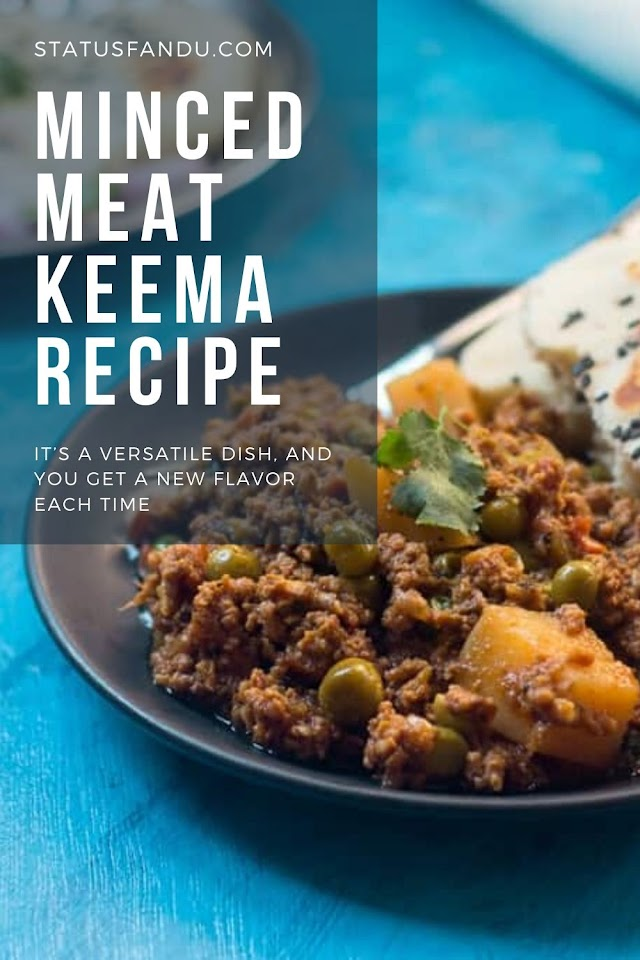 Minced Meat Keema Recipe