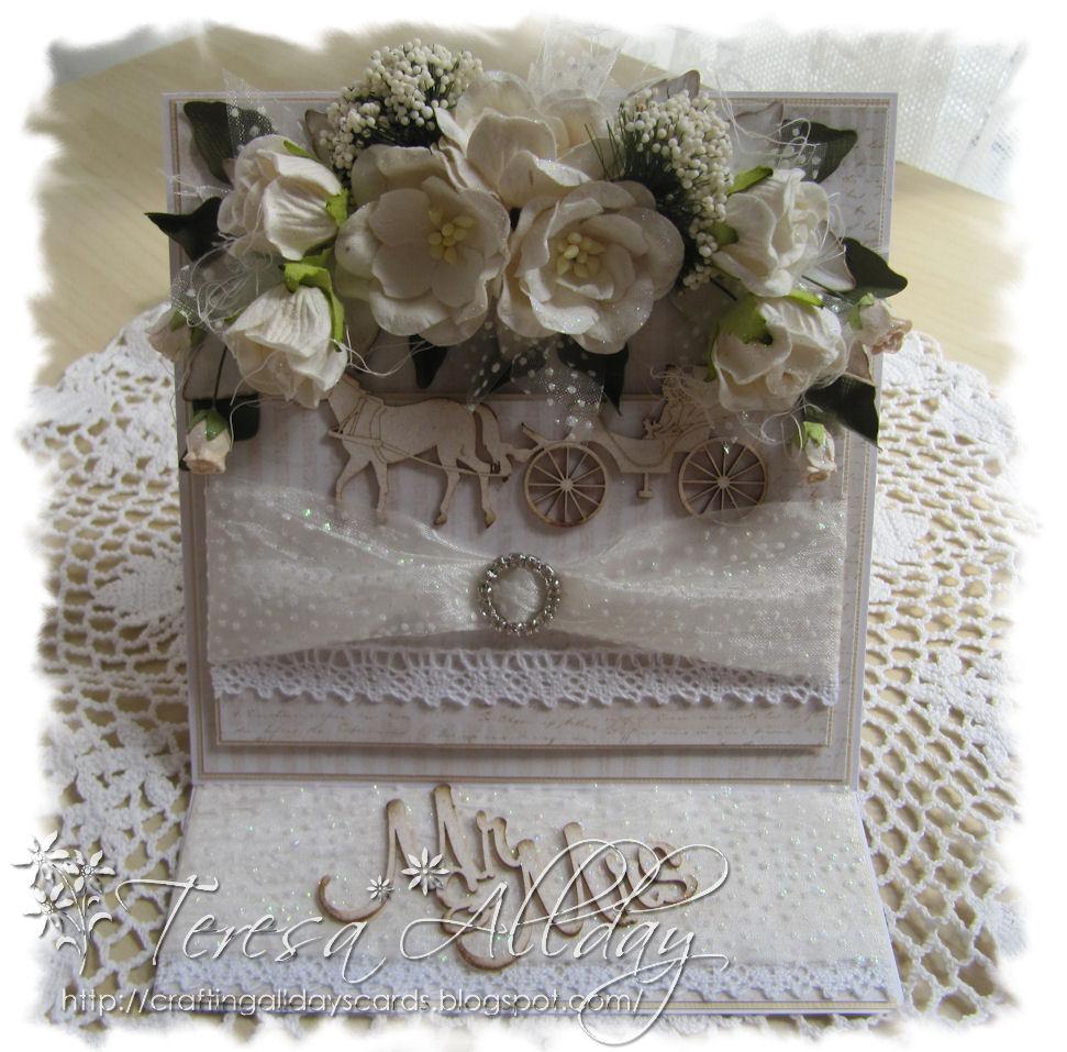 Craftingallday Creations: A Wedding Card & Money/Gift Wallet