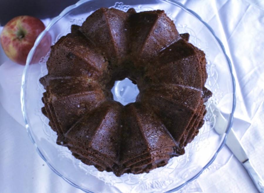Receta Streusel apple bundt cake o bundt cake de manzana y streusel
