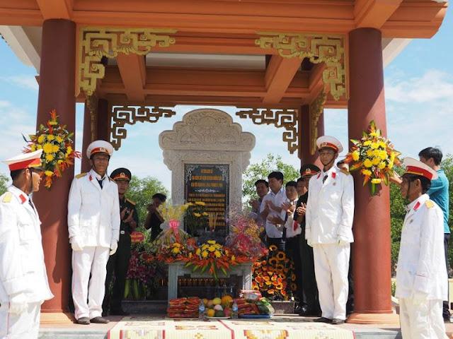 Lễ khánh thành Khu tưởng niệm liệt sỹ Tiểu đoàn 814 (K14)